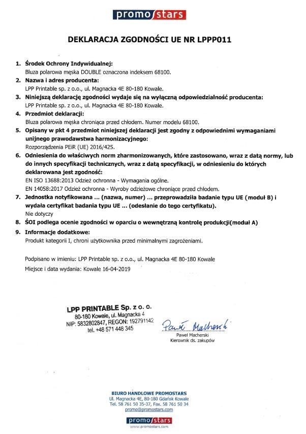 Deklaracja zgodności z UE
